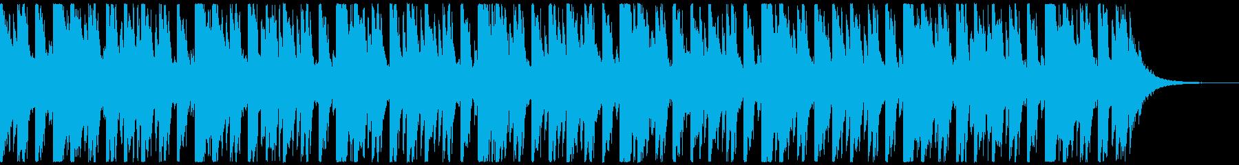 オシャ4つ打ち、スタイリッシュ雰囲気系1の再生済みの波形