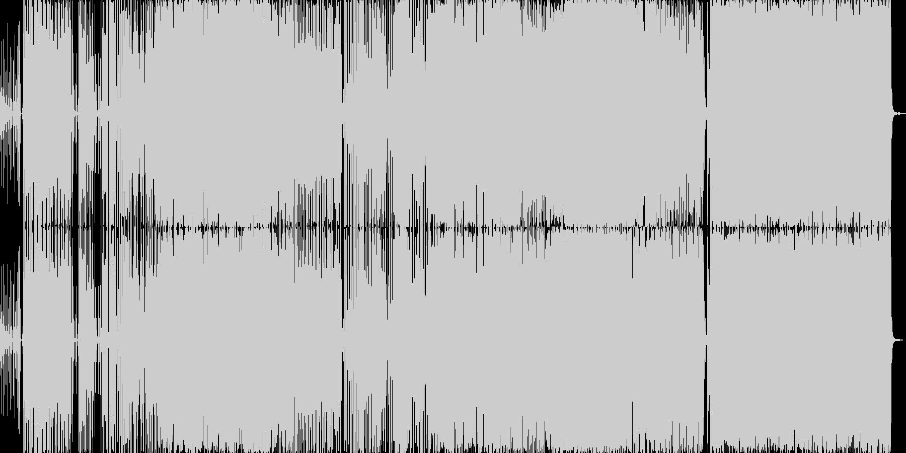 ベース音楽曲です。疾走感あふれるスラッ…の未再生の波形