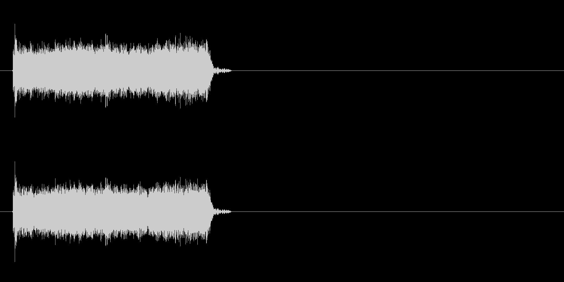 ロック曲等に使えるエレキギター効果音3の未再生の波形