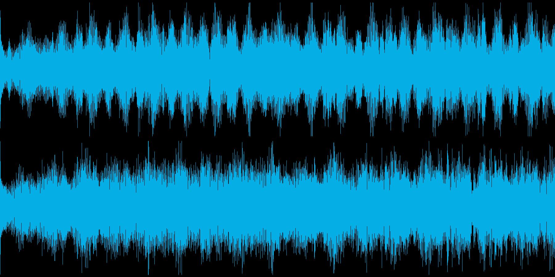 企業紹介映像、近未来系エレクトロループ4の再生済みの波形