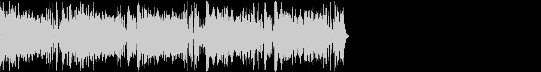 サイバーな機械電子音の未再生の波形