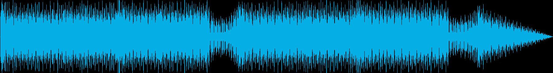 爽やかハウステクノの再生済みの波形