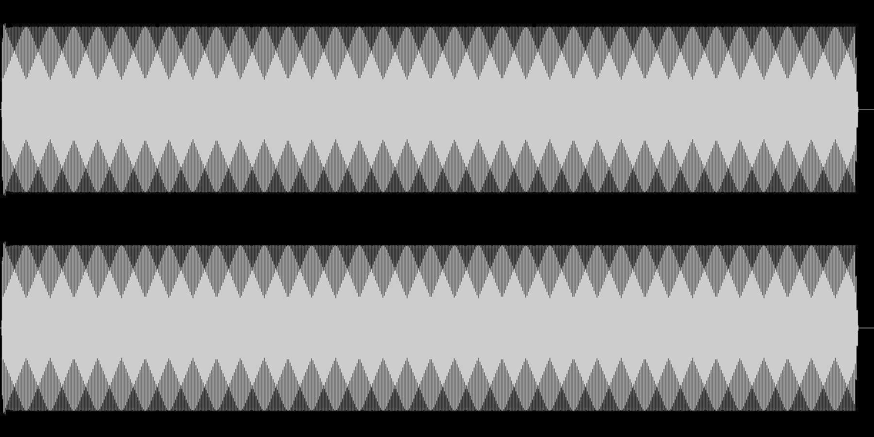 ジー(アンプから出るノイズ音)の未再生の波形
