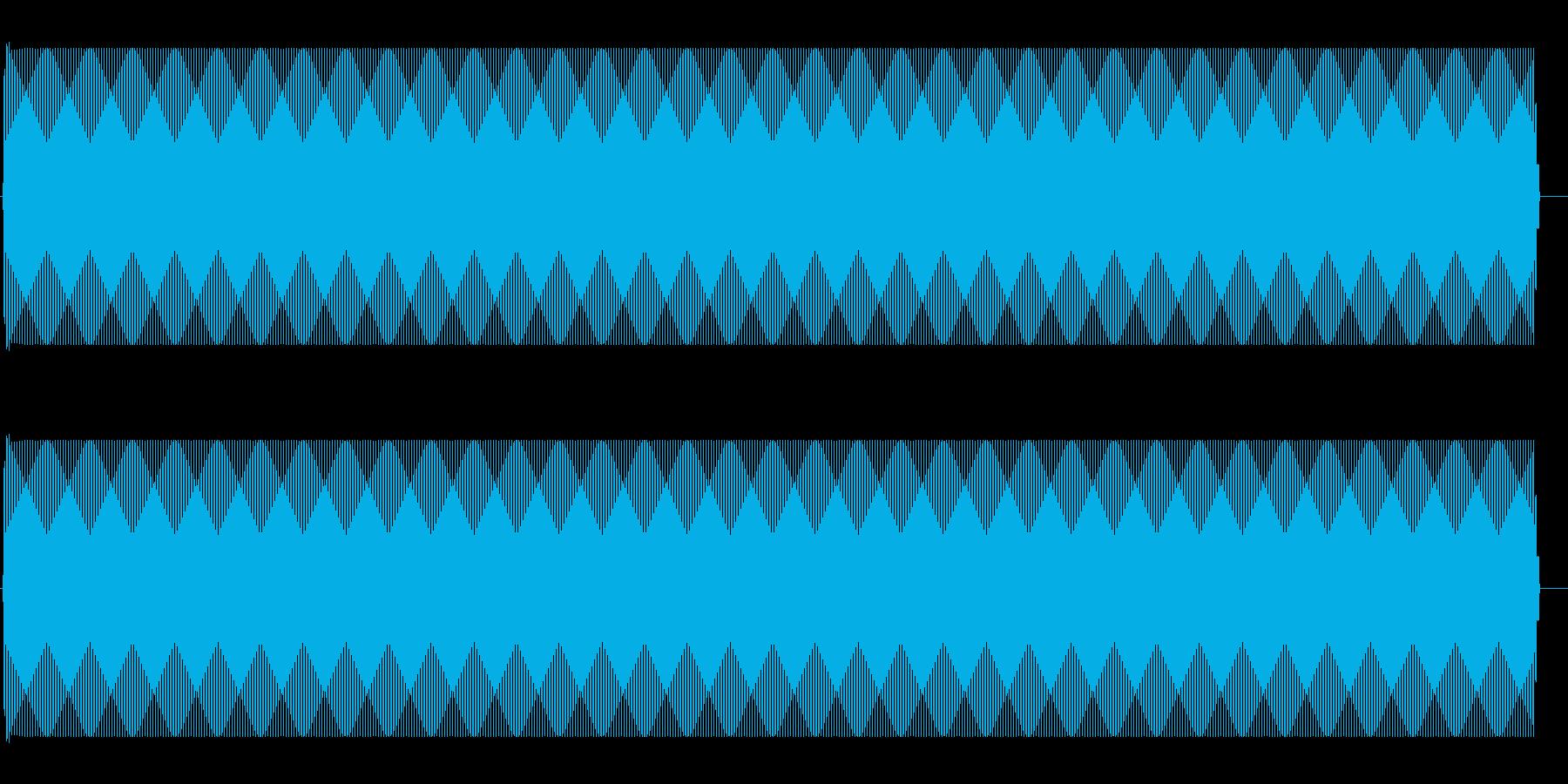 ジー(アンプから出るノイズ音)の再生済みの波形
