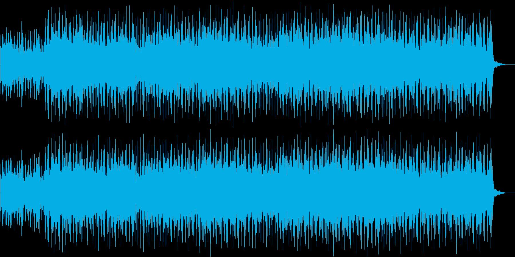 雄大な草原のようなストリングスの再生済みの波形