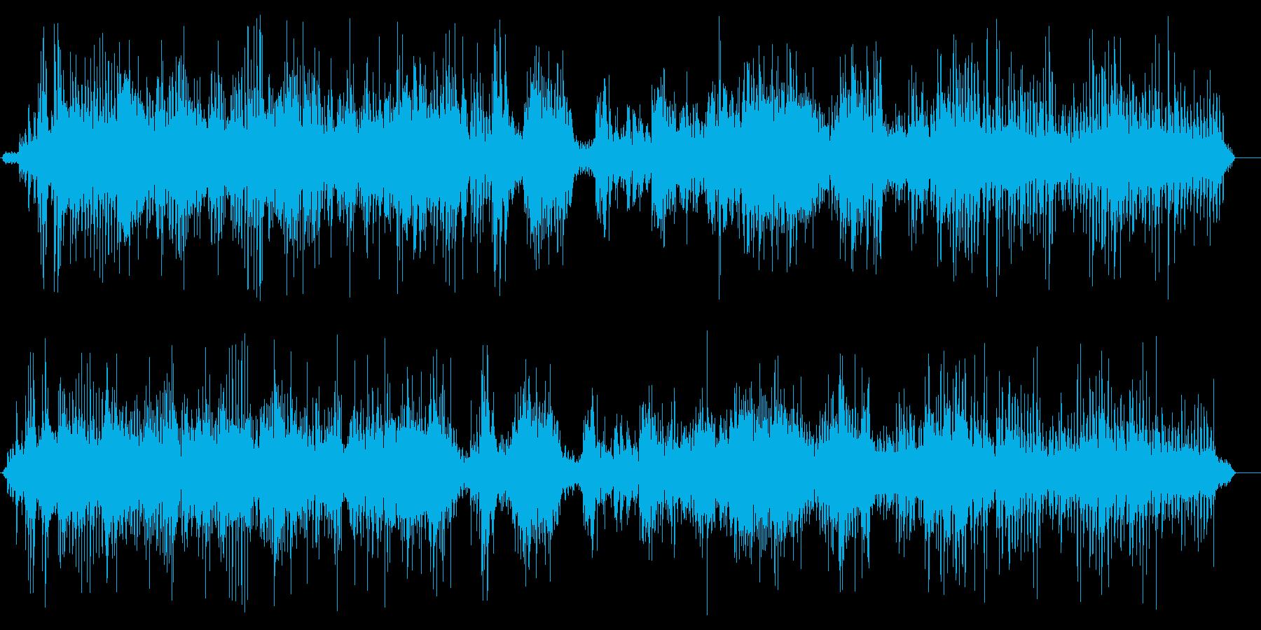 ジリジリジリ(放電現象)の再生済みの波形