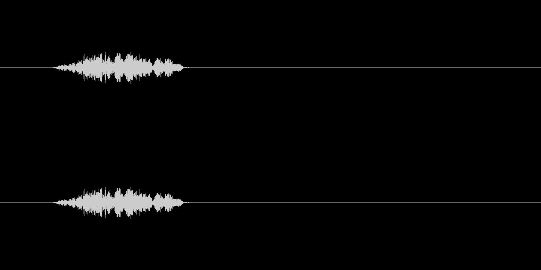 【ポップモーション40-2】の未再生の波形