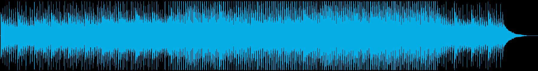 企業VPや映像に ピアノの静かなる高揚感の再生済みの波形