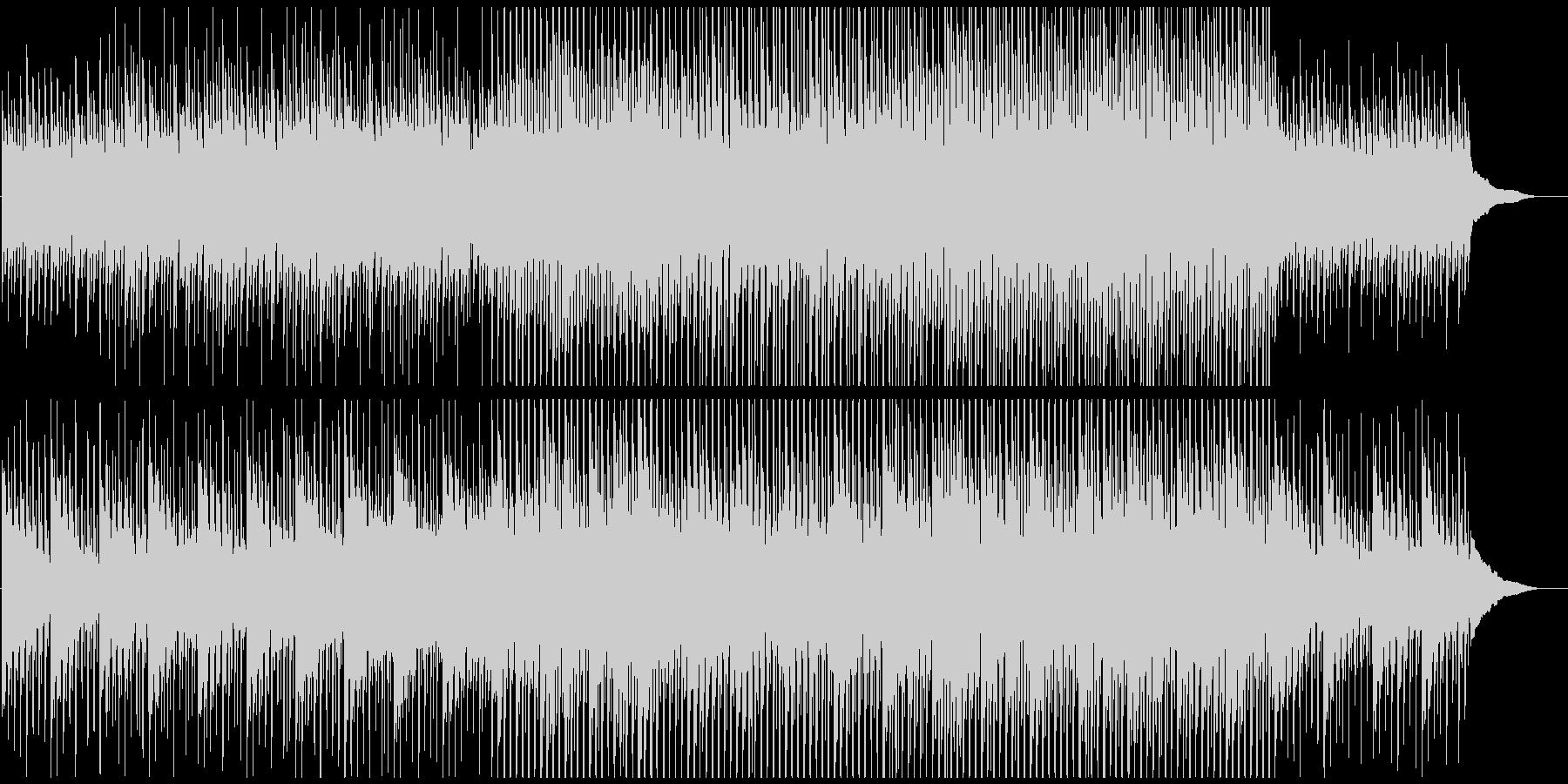 企業VPや映像に ピアノの静かなる高揚感の未再生の波形