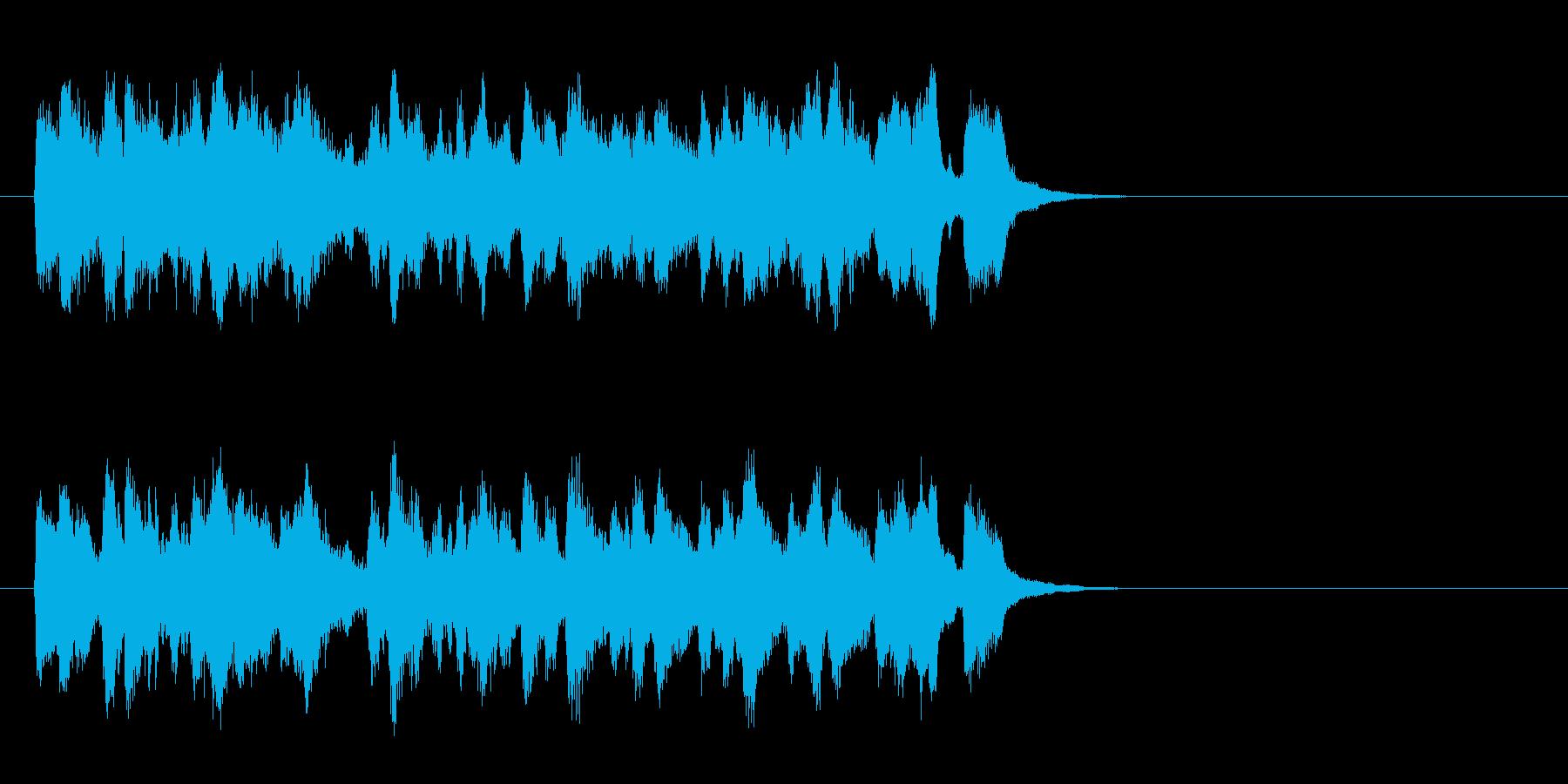 春を思わせるセミ・クラ(イントロ)の再生済みの波形