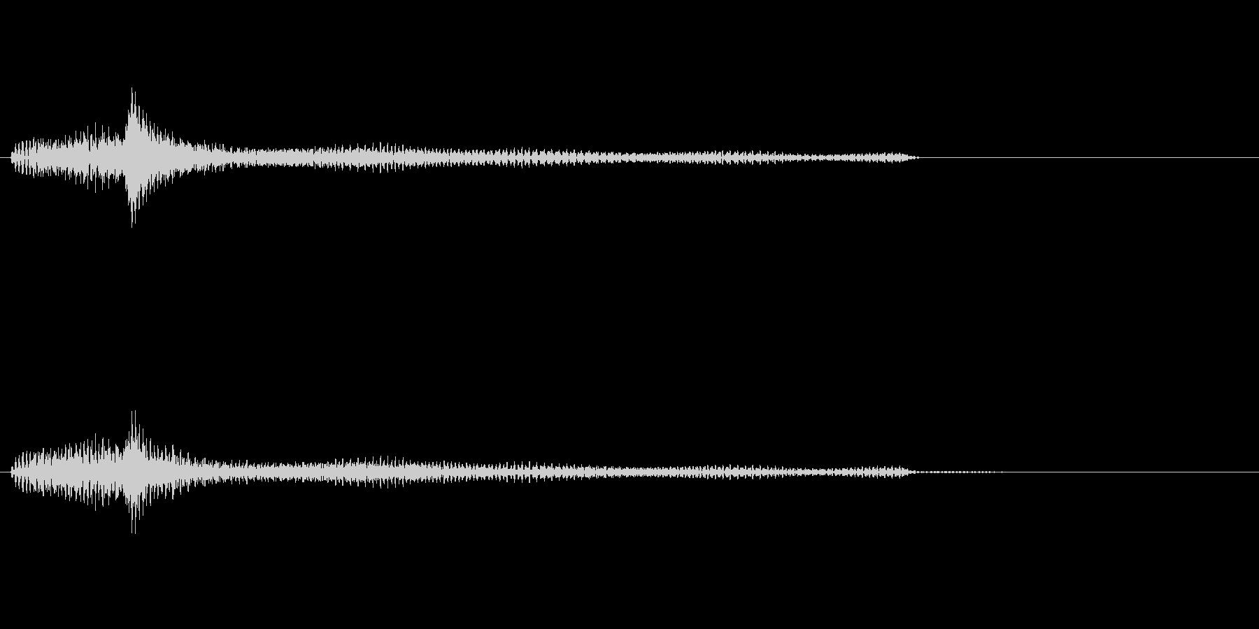 ポロロロン(ハープの低めグリス↑)の未再生の波形