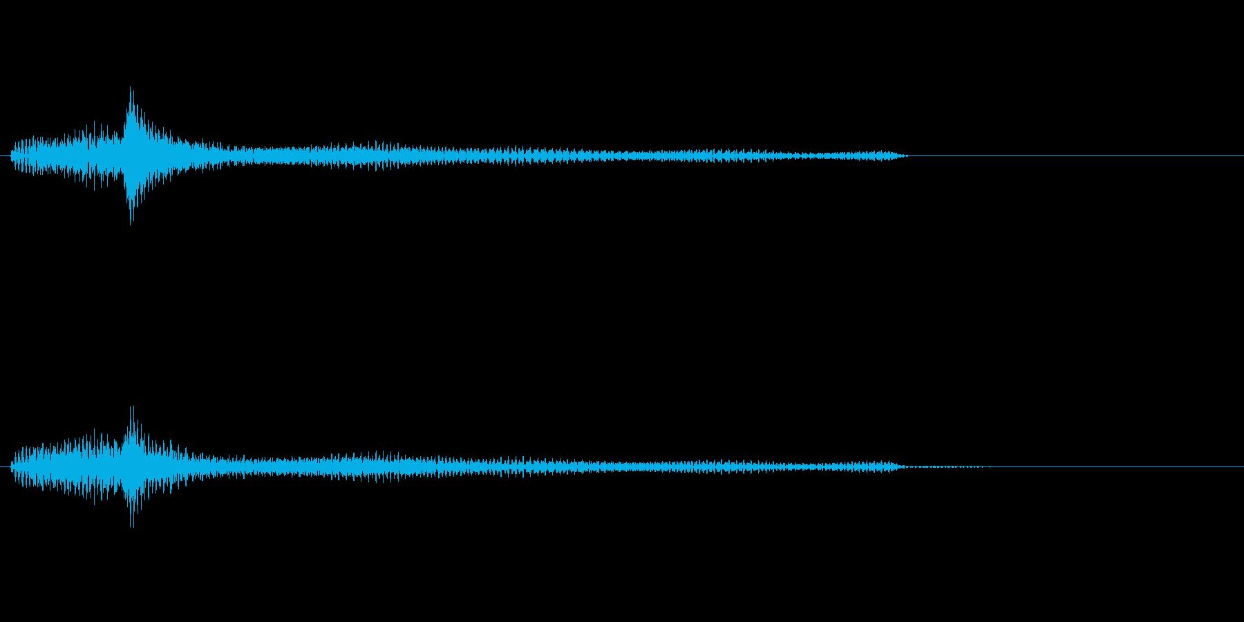 ポロロロン(ハープの低めグリス↑)の再生済みの波形