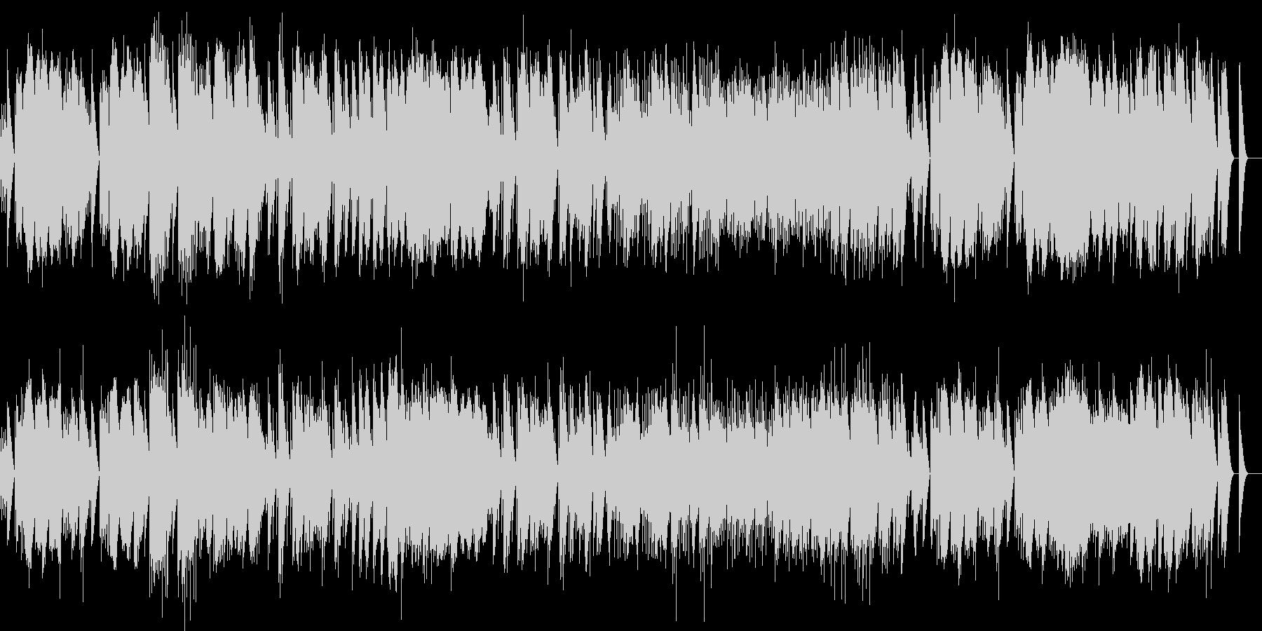 ベルガマスク組曲 前奏曲 オルゴールの未再生の波形