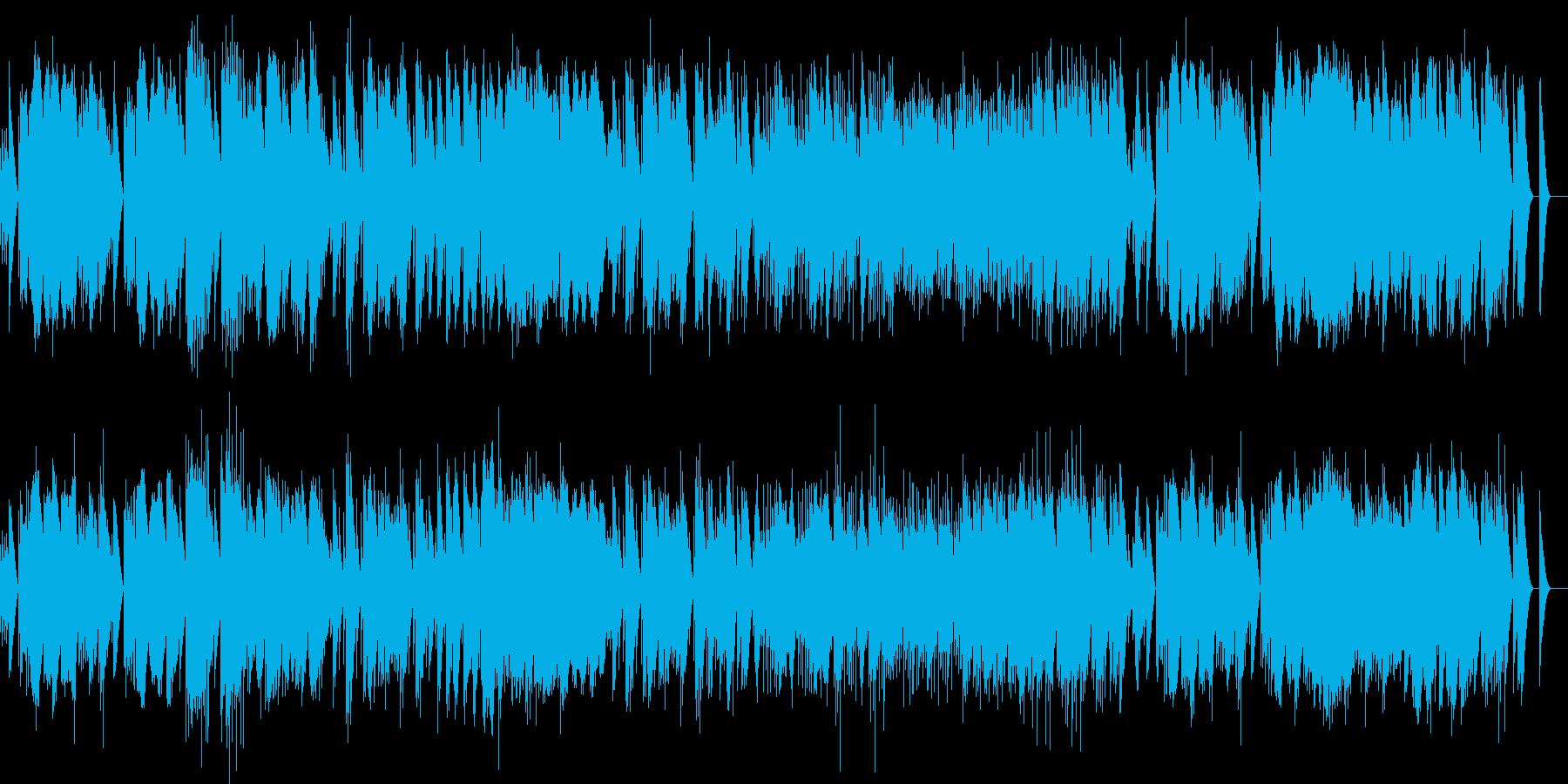 ベルガマスク組曲 前奏曲 オルゴールの再生済みの波形