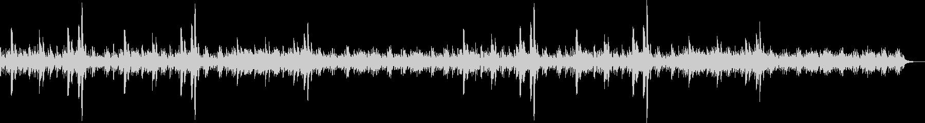 ピアノ・竪琴で幻想的なリラクゼーションの未再生の波形