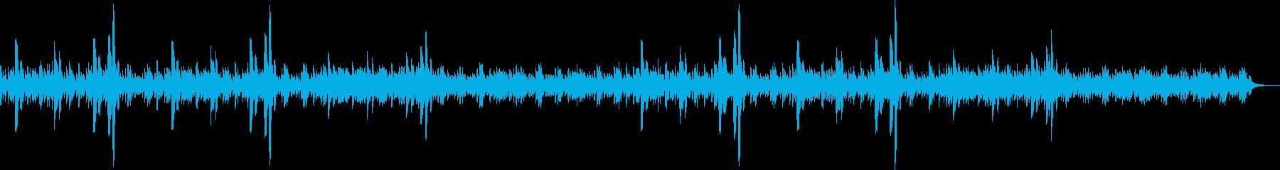 ピアノ・竪琴で幻想的なリラクゼーションの再生済みの波形