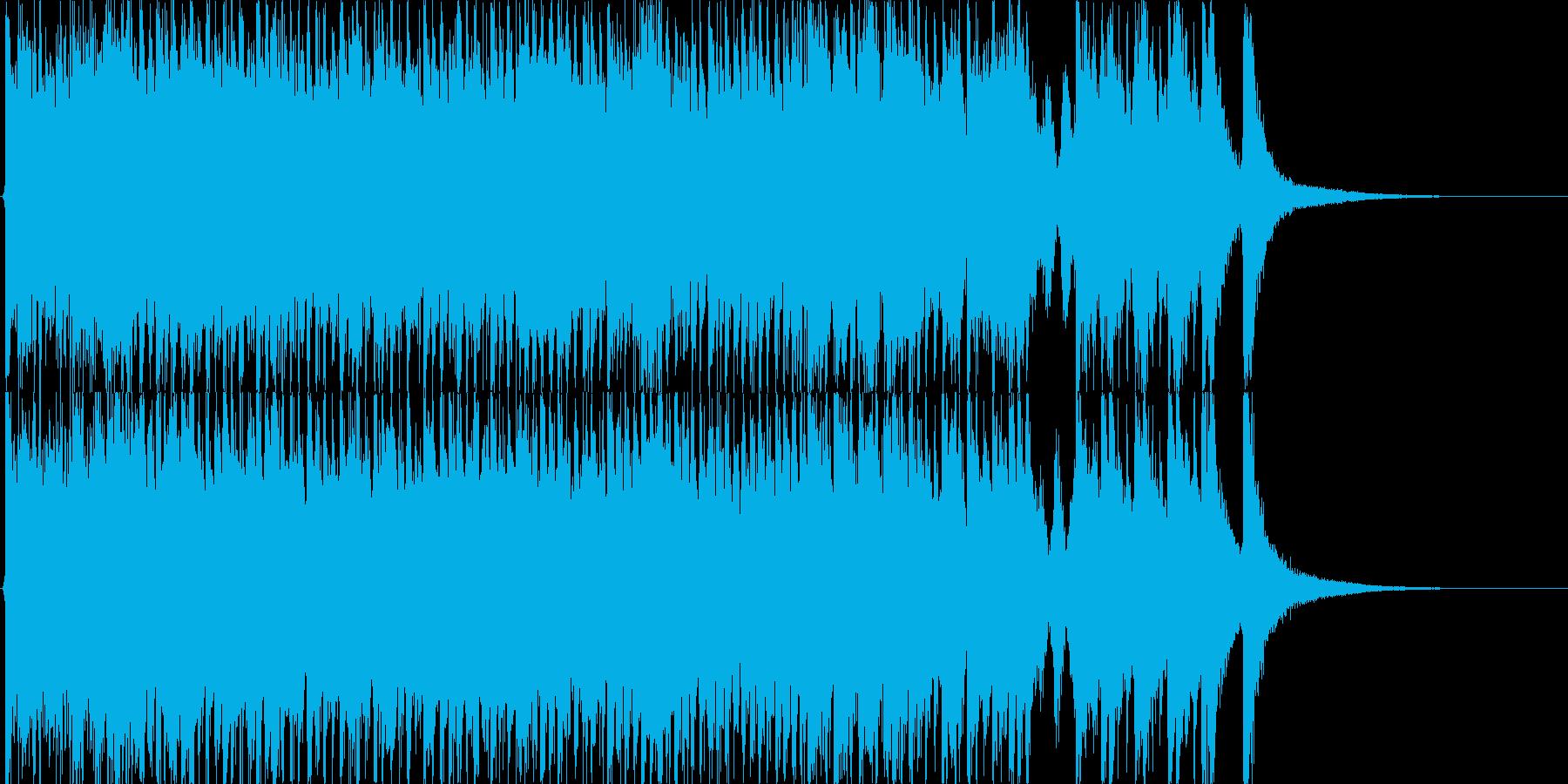 ディズニー風の愉快なファンタジー(短)の再生済みの波形
