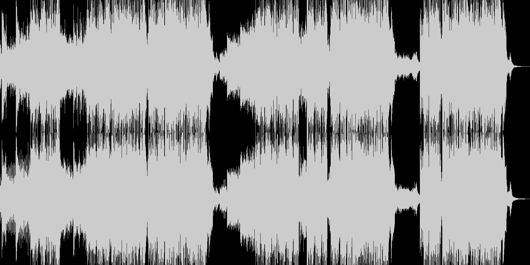 ✽雪が一面に広がるイメージ✽の未再生の波形