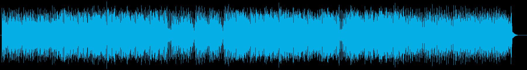 軽快でリズミカルなサンバ風アコギサウンドの再生済みの波形