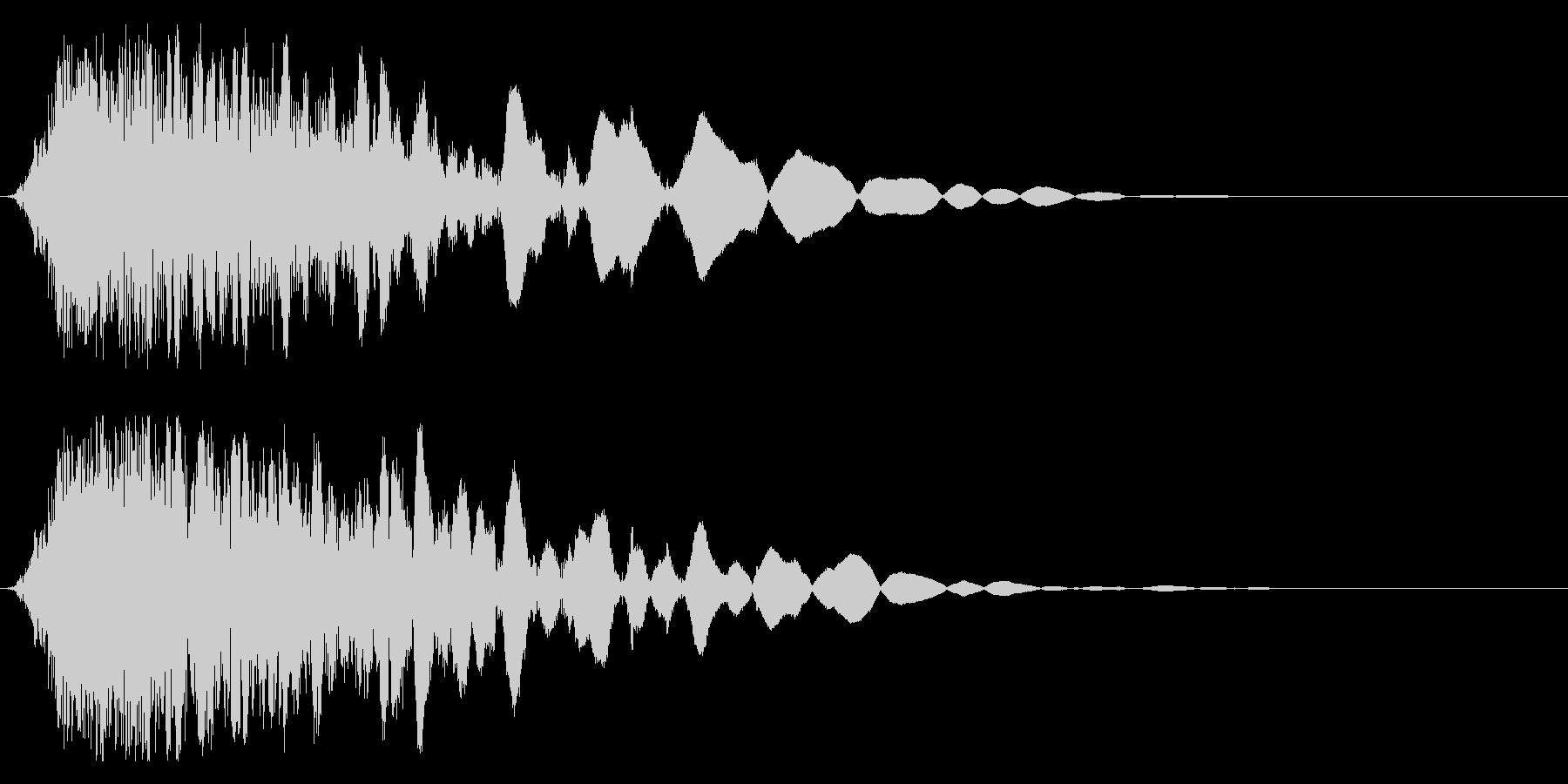 刀や剣 抜刀 斬撃の効果音 11の未再生の波形