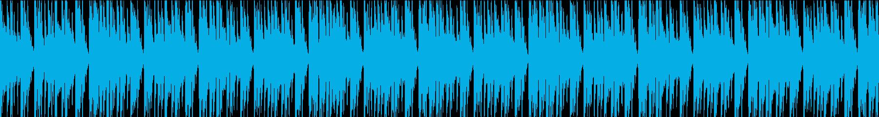 明るくハッピーで大当たり感のあるジングルの再生済みの波形