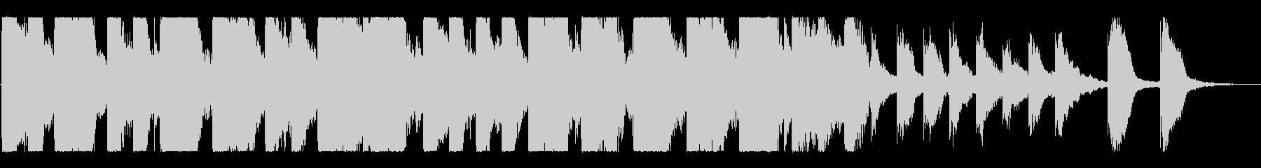 ポップで明るい「ジングルベル」ロゴ ♪の未再生の波形