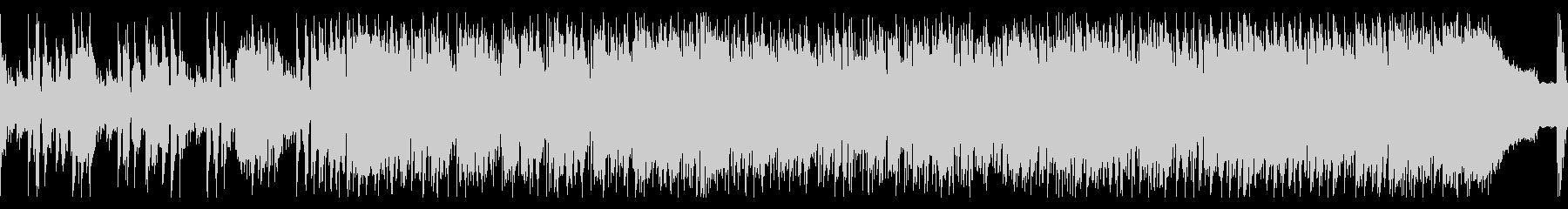 スタイリッシュなジャズフュージョンの未再生の波形