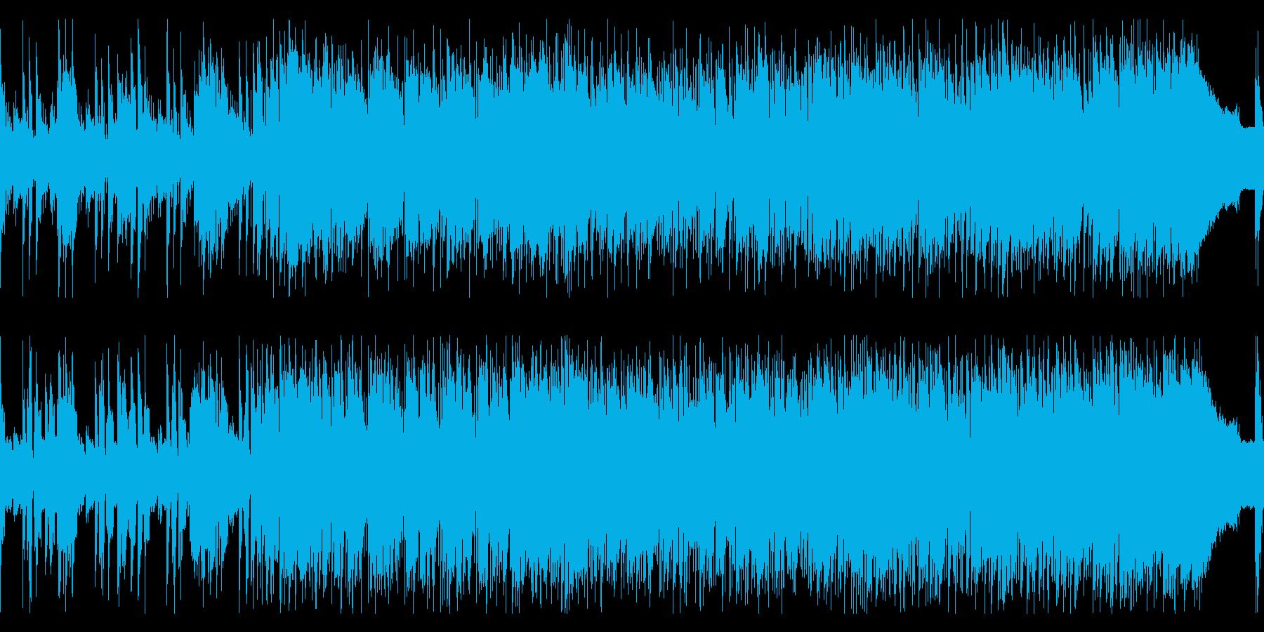 スタイリッシュなジャズフュージョンの再生済みの波形