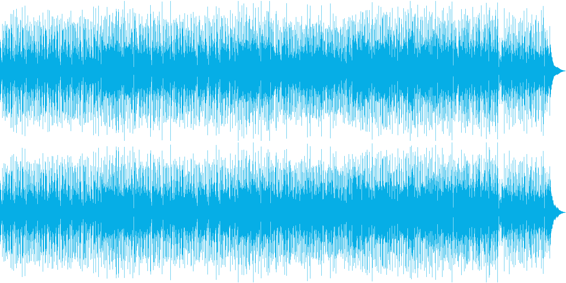 アコギ ポップス わくわく 爽やか 映像の再生済みの波形
