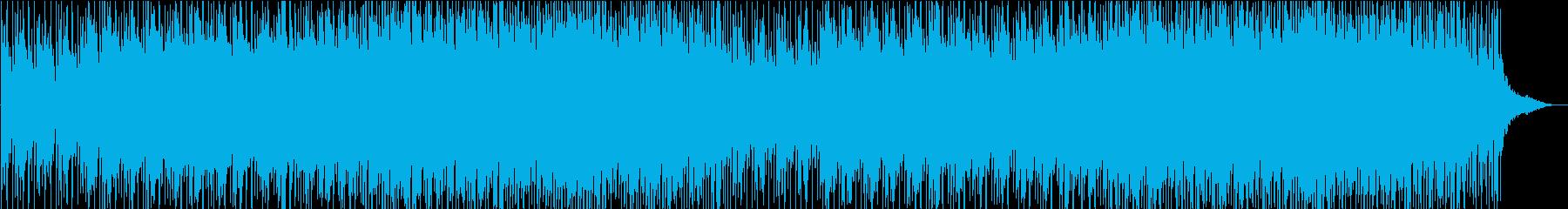 明るくファミリー向きな手拍子入りの曲ですの再生済みの波形