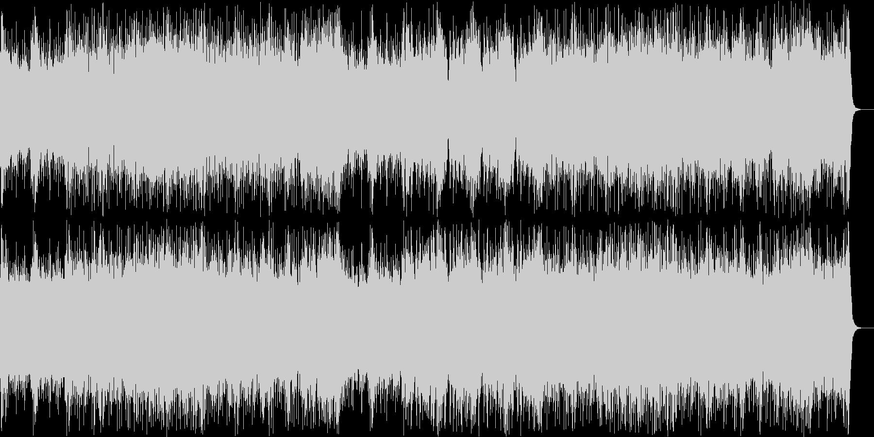 和風ロック:三味線・琴・尺八・和太鼓の未再生の波形