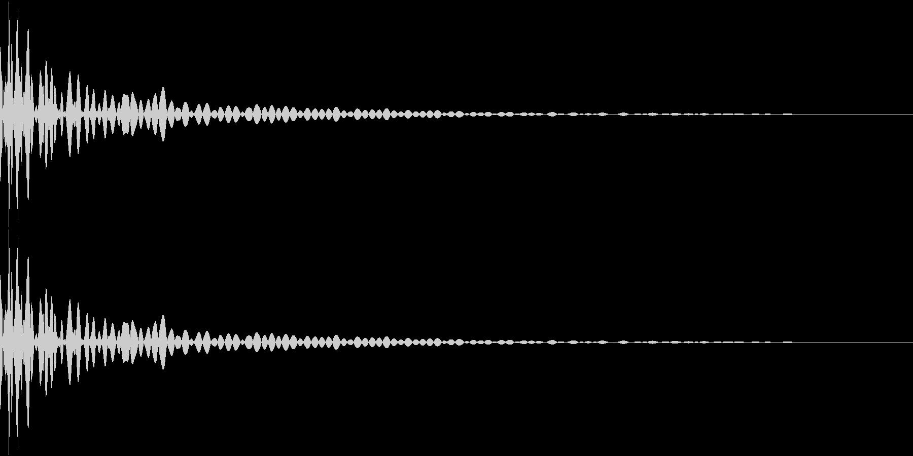 DTM Tom 11 オリジナル音源の未再生の波形