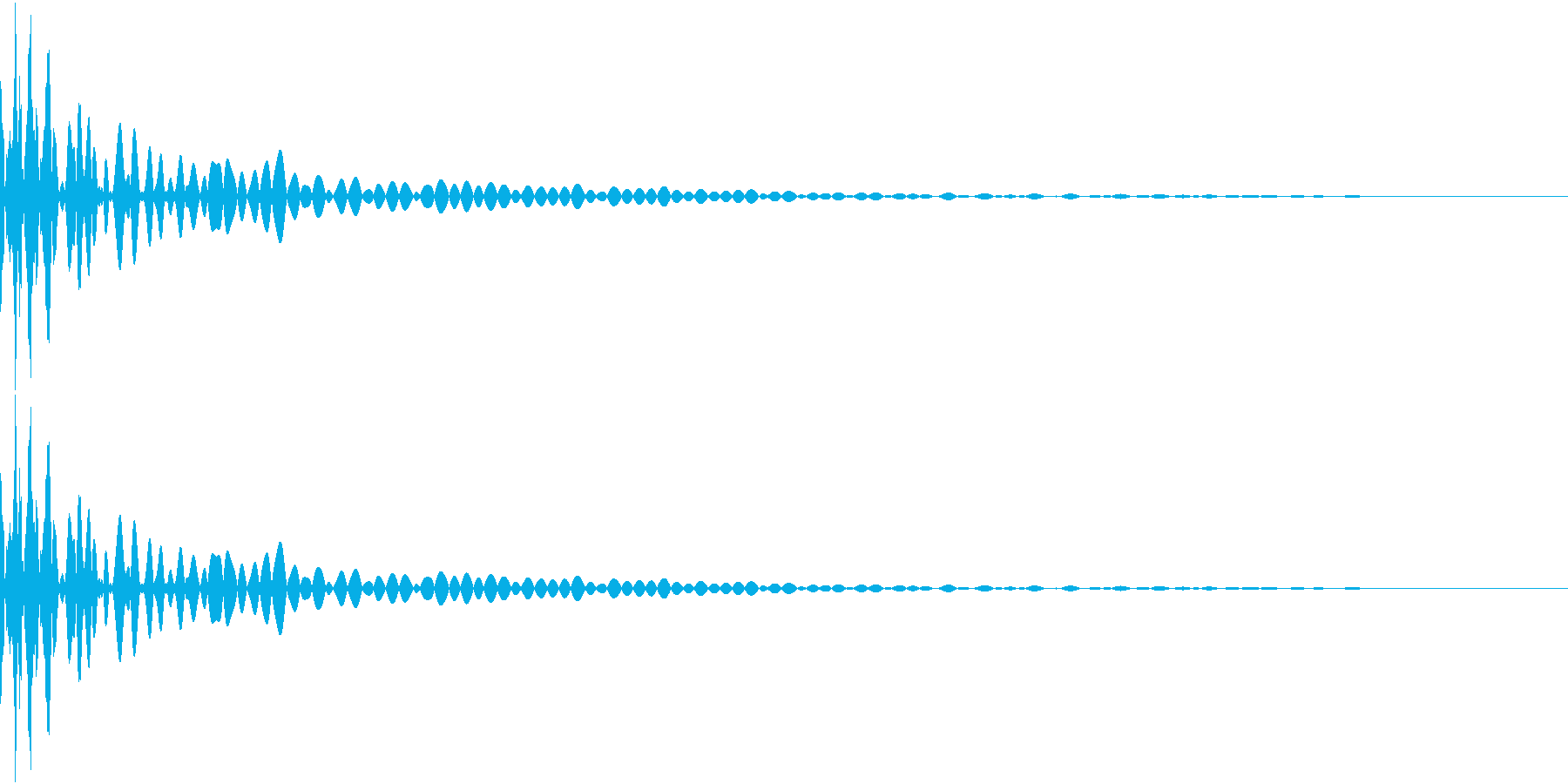 DTM Tom 11 オリジナル音源の再生済みの波形