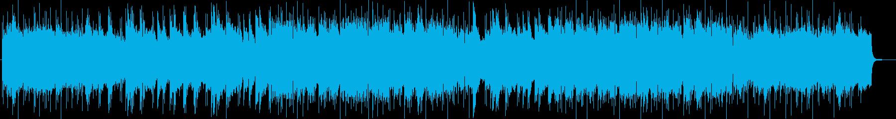 幻想的なヒーリングで効果のあるサウンドの再生済みの波形