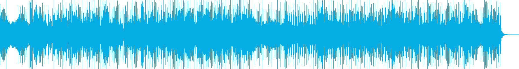 ベル音が気持ちいい爽やか系ポップス曲の再生済みの波形