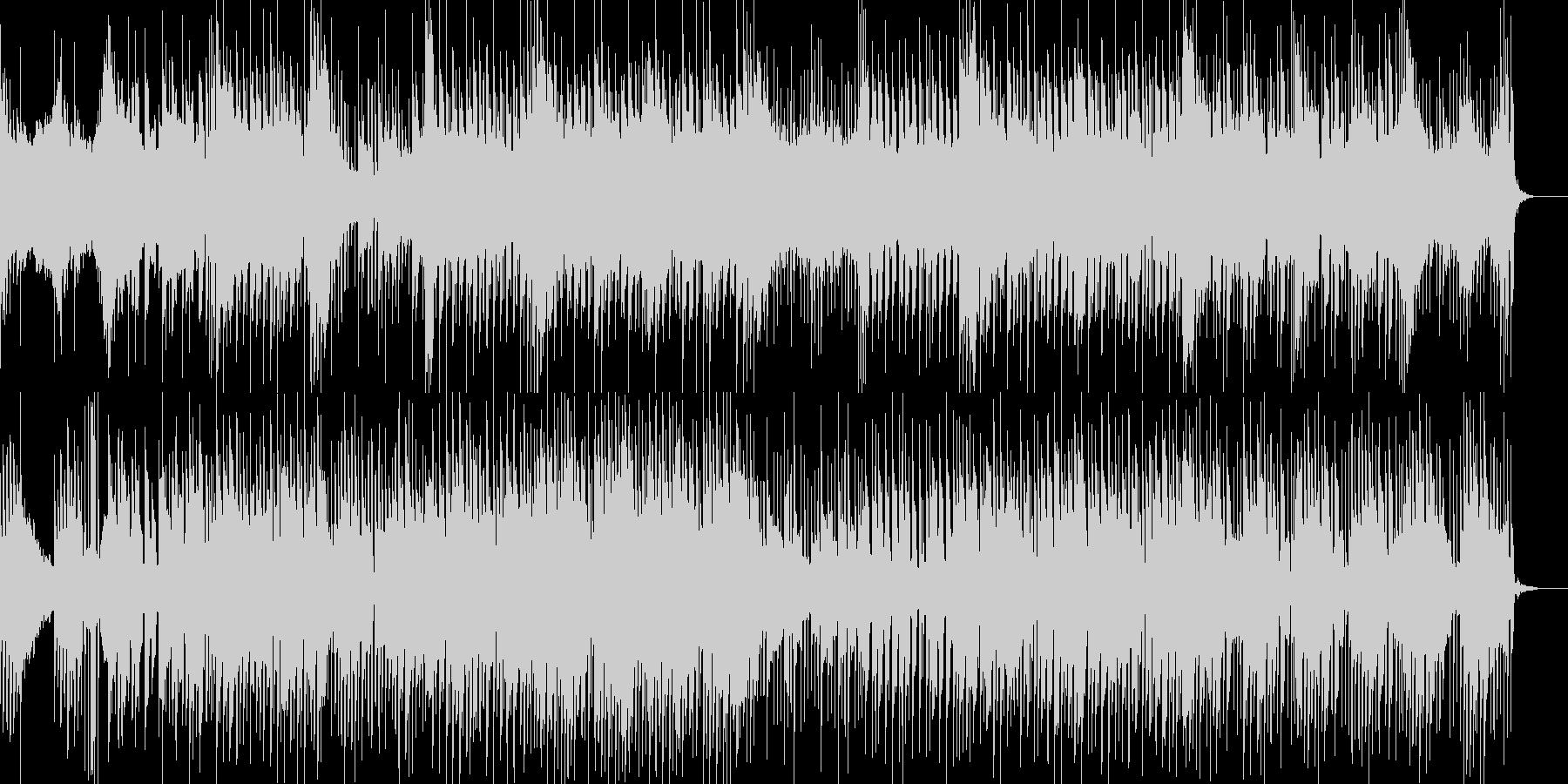 ベル音が気持ちいい爽やか系ポップス曲の未再生の波形
