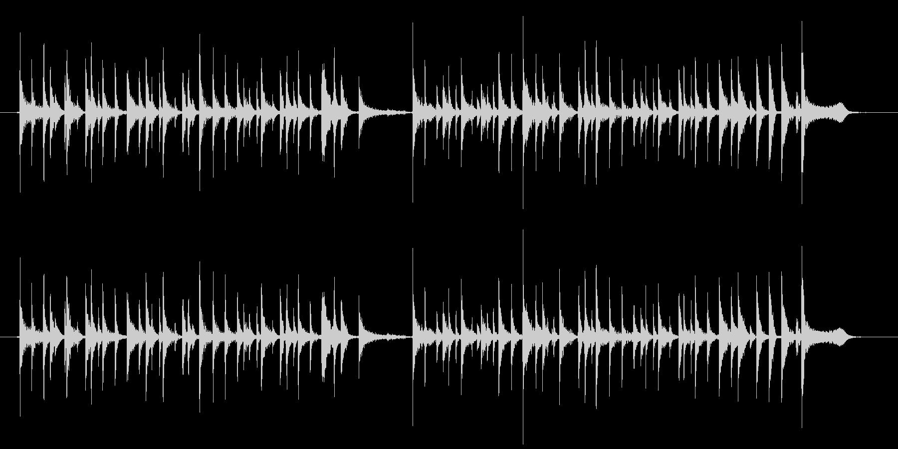 miyaviみたいなアコギ奏法の未再生の波形