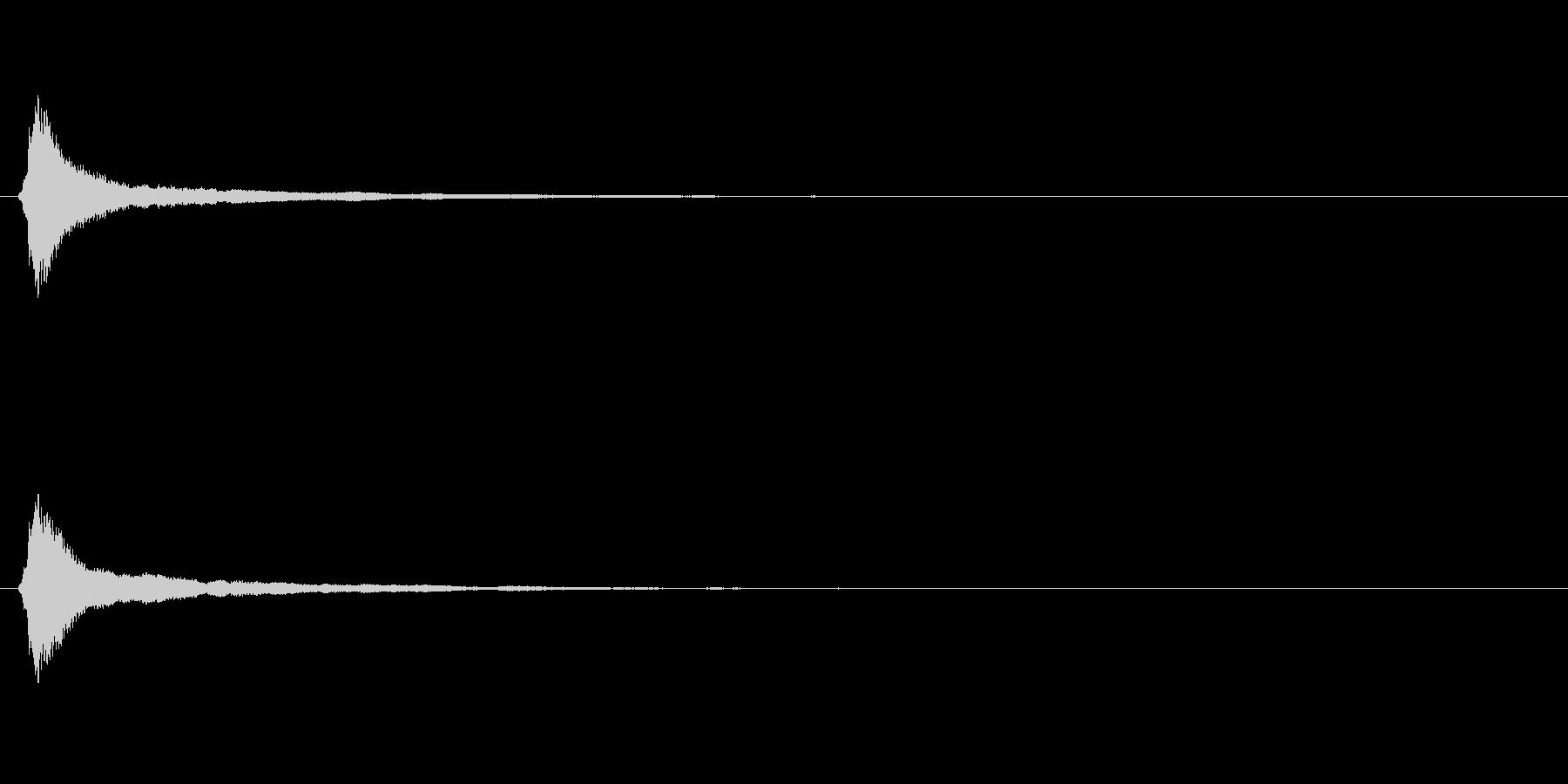 キラキラ系_005の未再生の波形