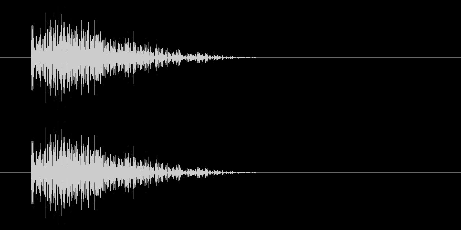 SNES シューティング01-06(ダメの未再生の波形