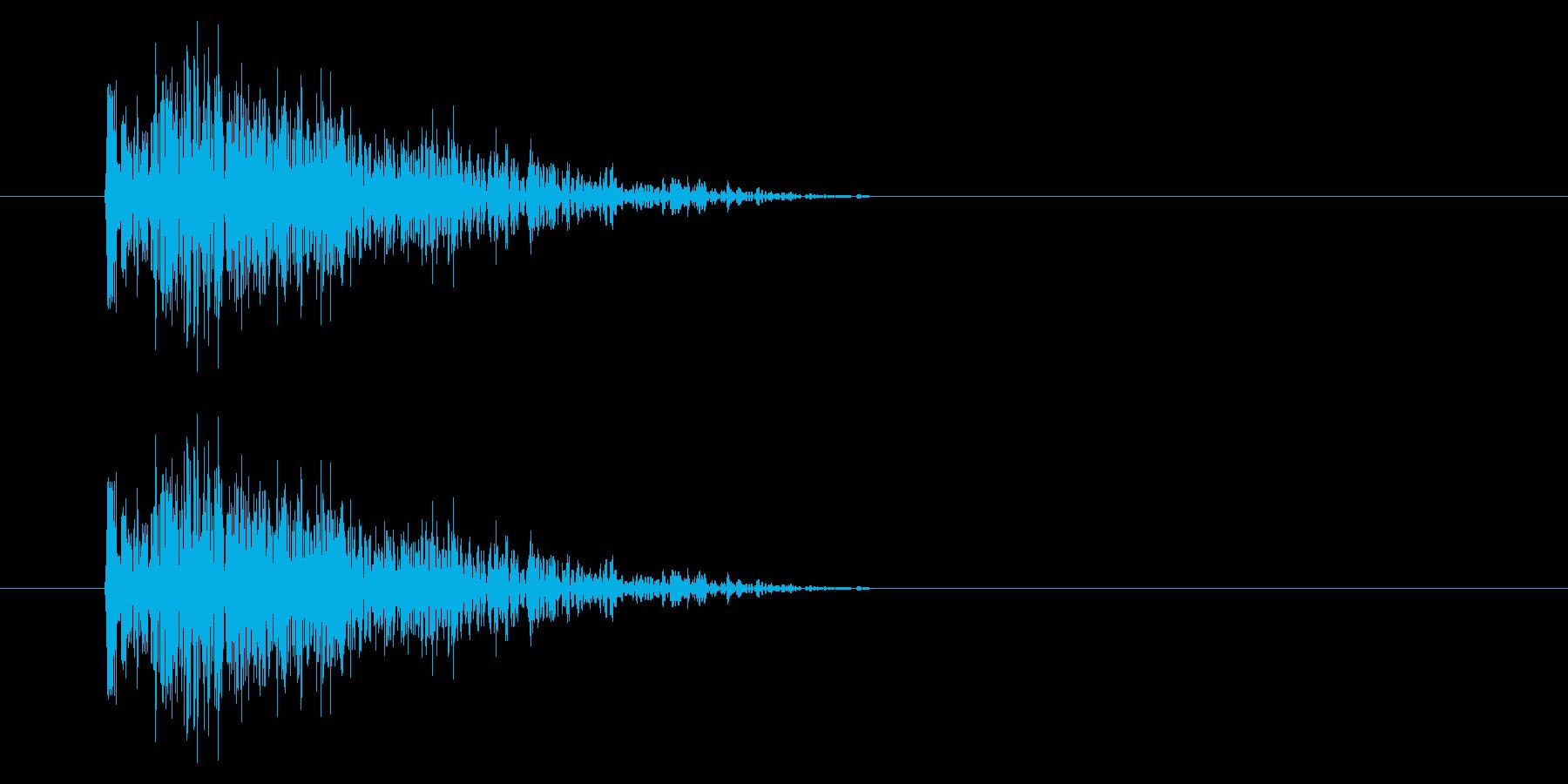 SNES シューティング01-06(ダメの再生済みの波形