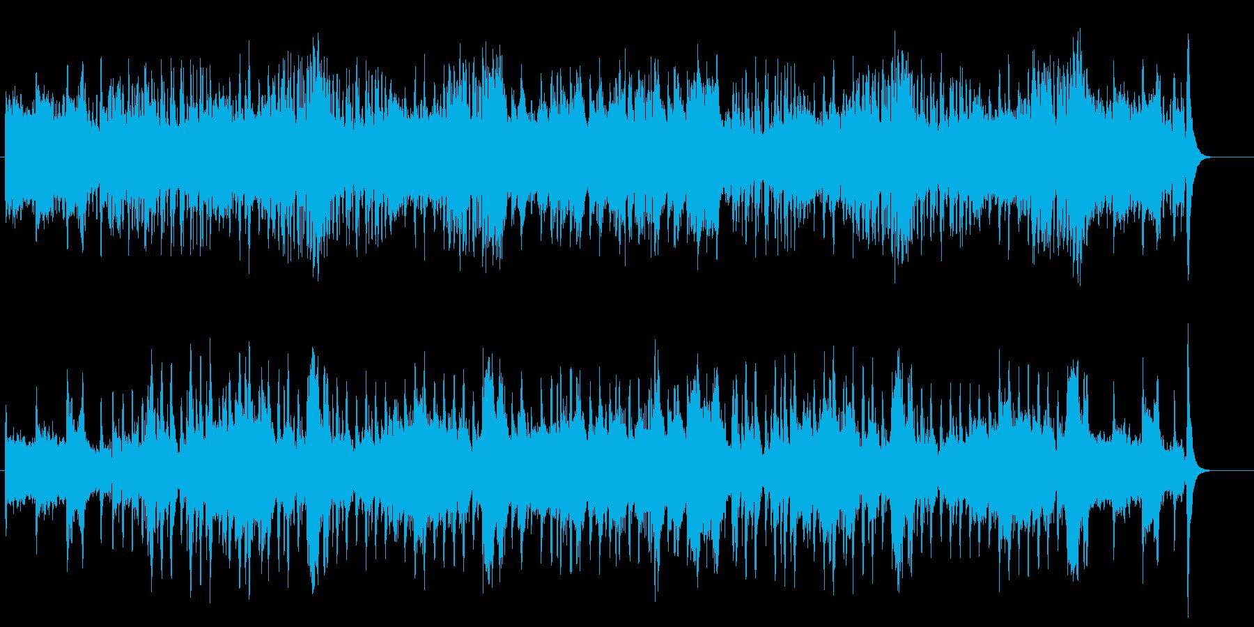 動物、ティーパーティー風景に合うワルツの再生済みの波形