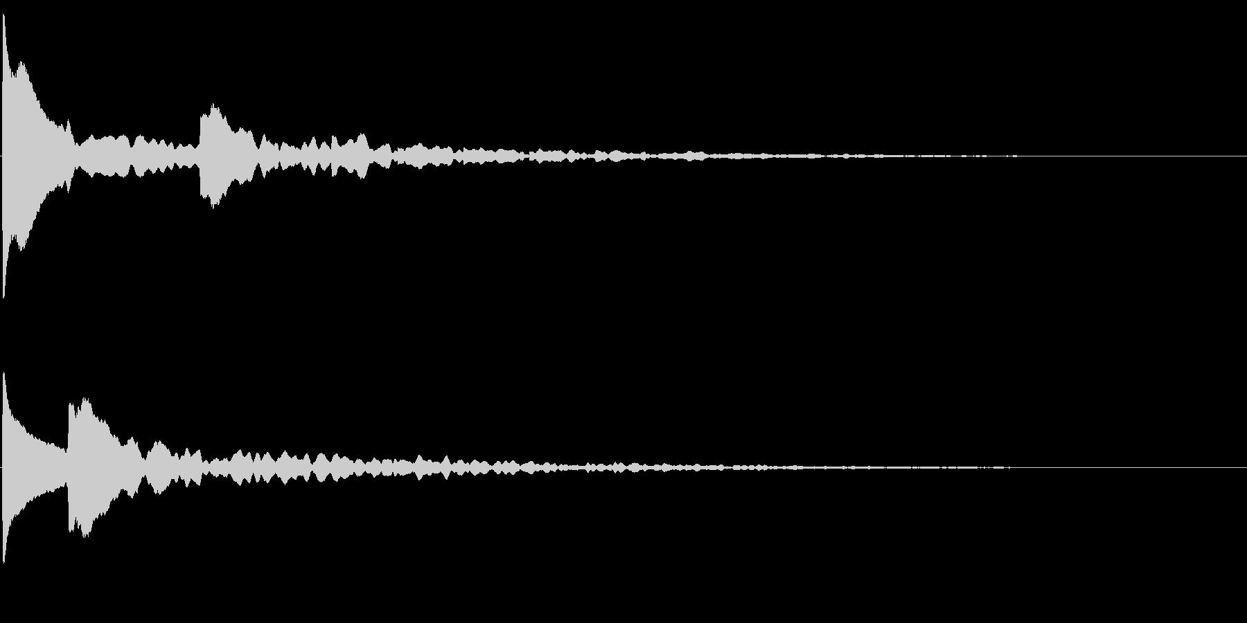 気づく(重要・発見・シリアス・ホラー系)の未再生の波形