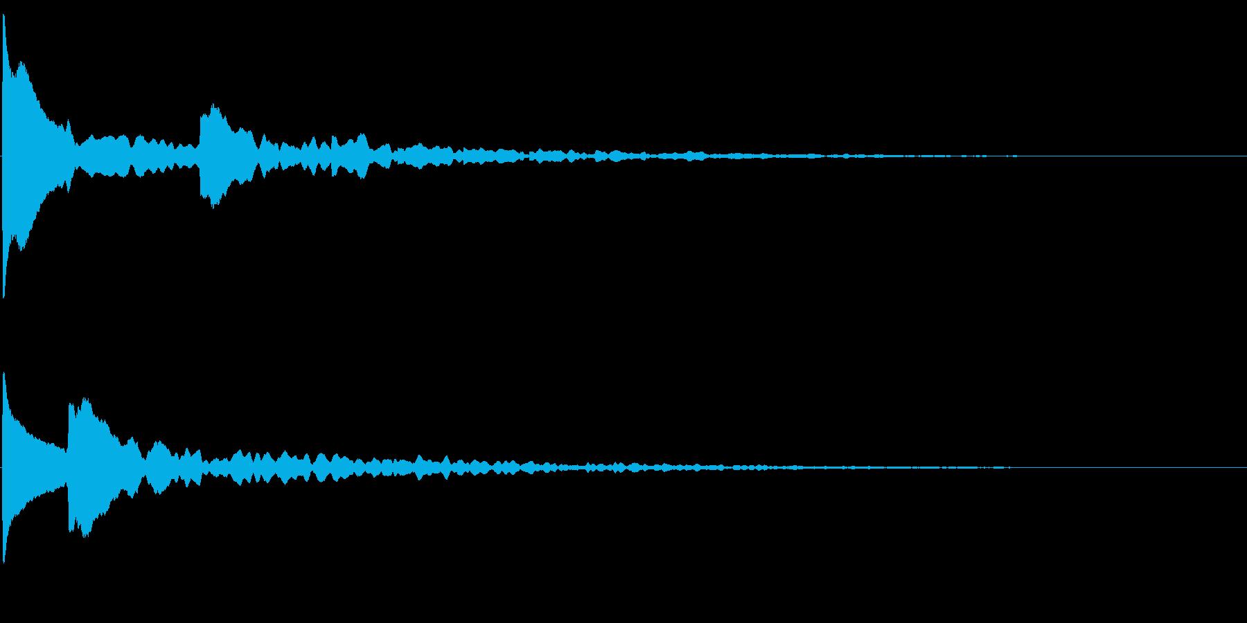 気づく(重要・発見・シリアス・ホラー系)の再生済みの波形