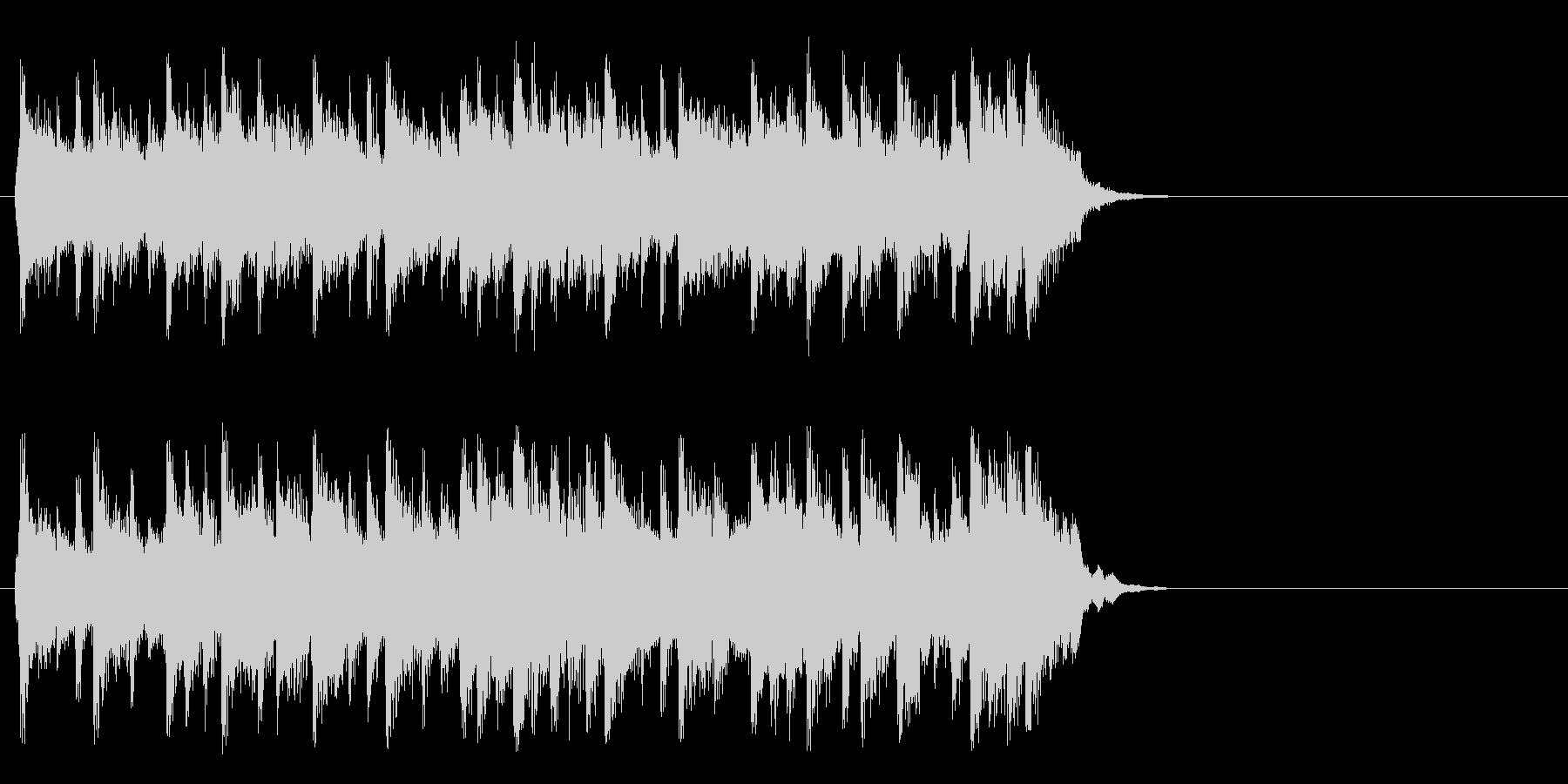 ポップ アコースティック(サビ)の未再生の波形