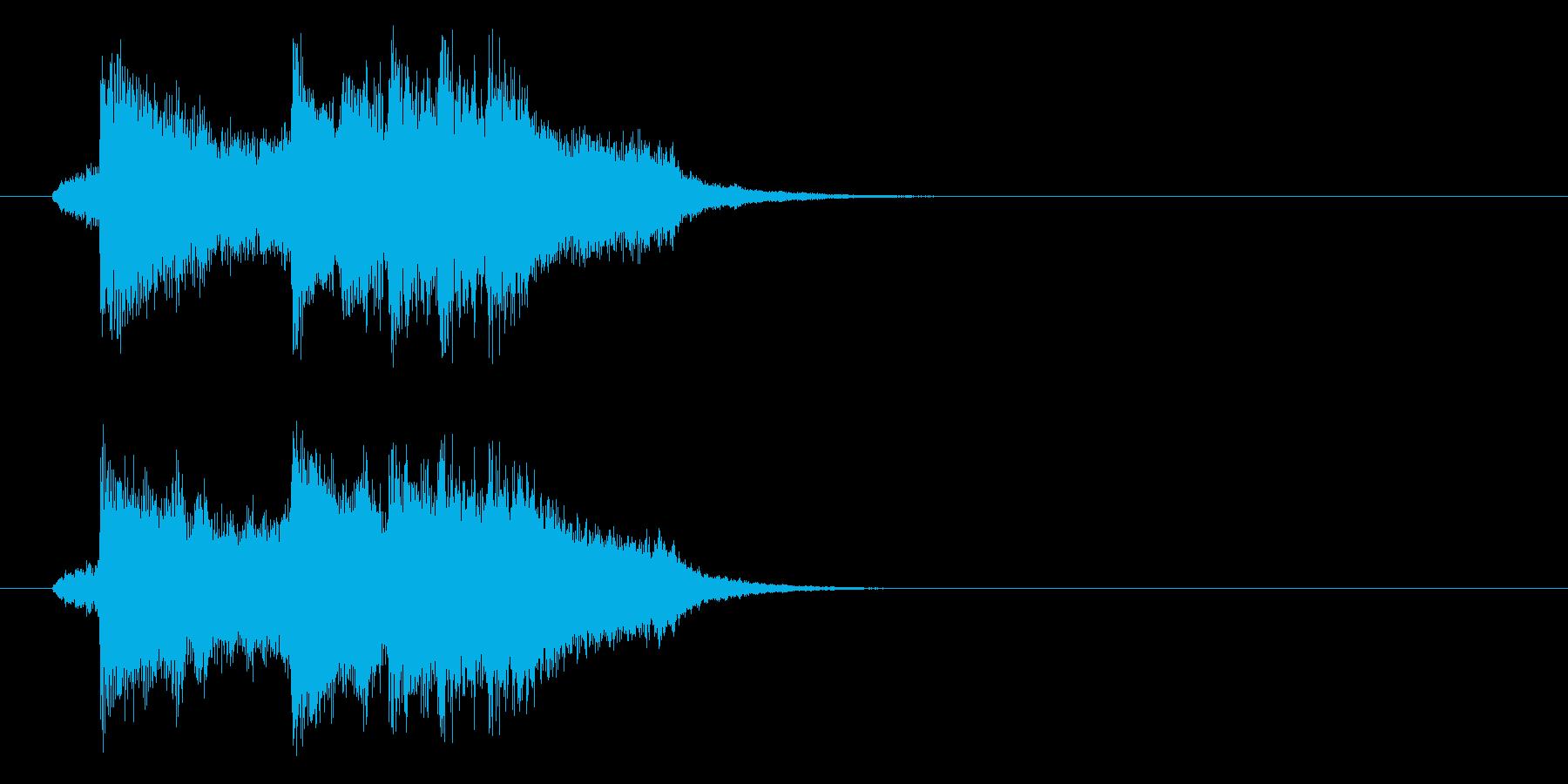 ジングル(ずっこけ演歌)の再生済みの波形