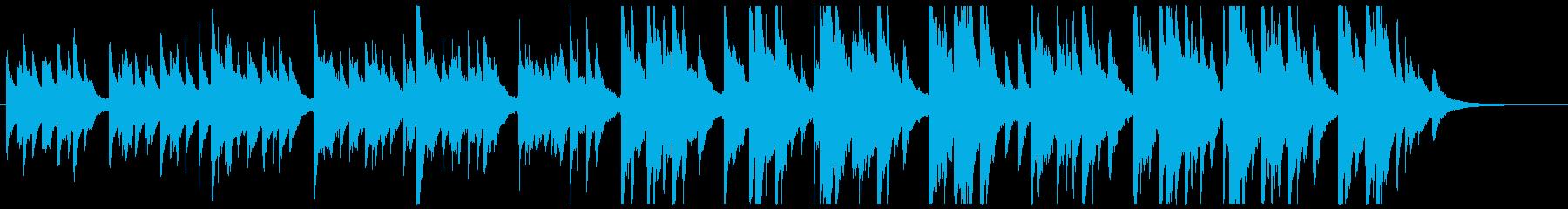 切なく力強いナイロンギターソロの再生済みの波形