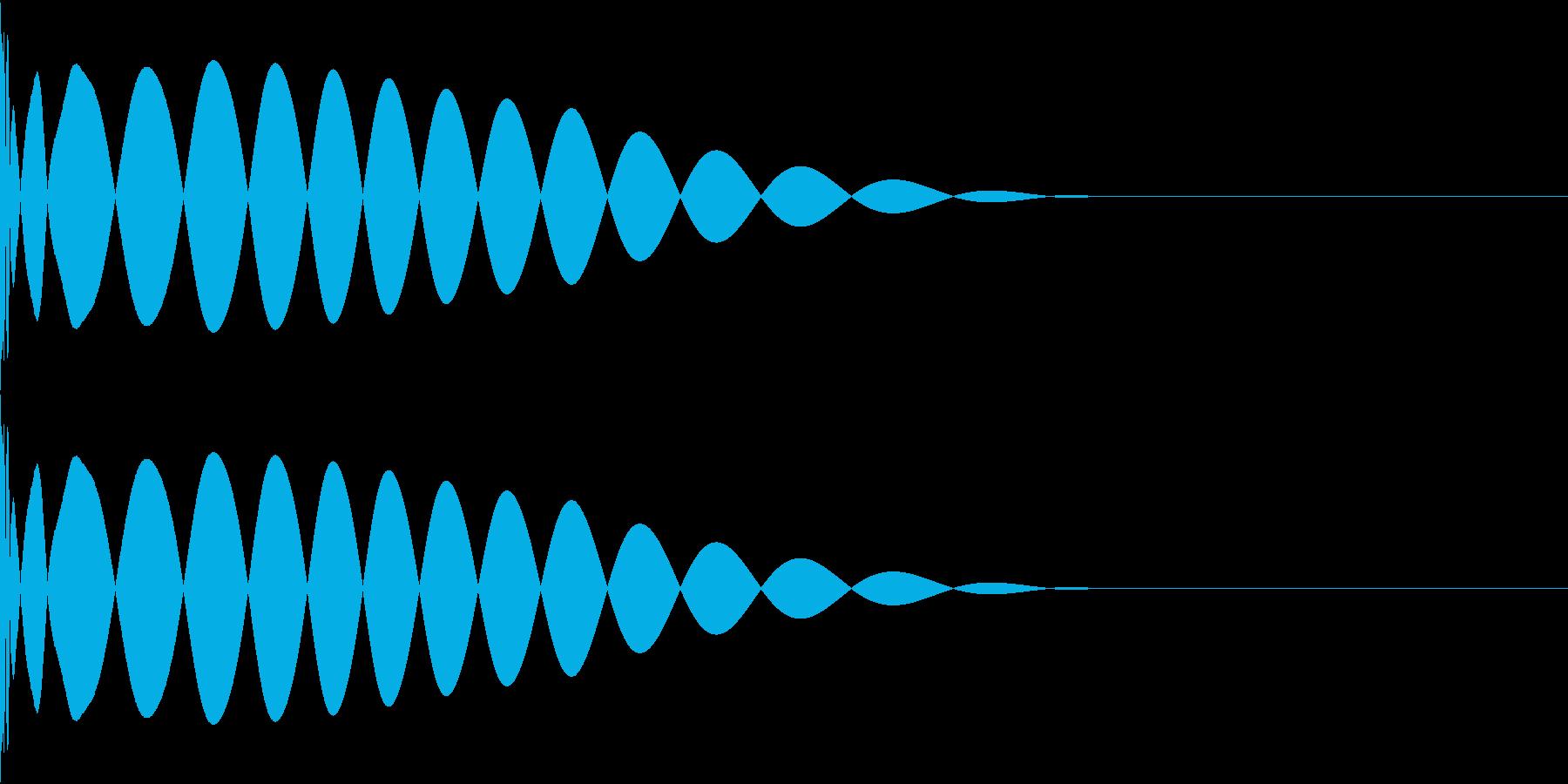 DTM Kick 50 オリジナル音源の再生済みの波形