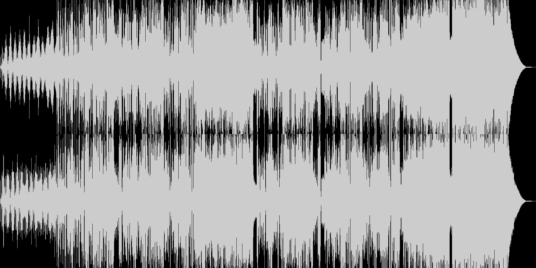 大自然イメージのドラムンベースの未再生の波形