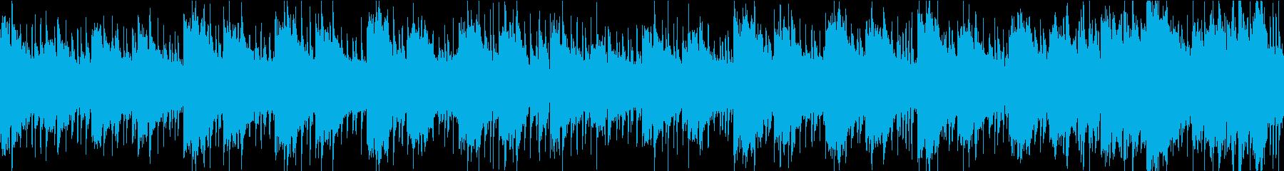日常シーンに最適なクセの無い曲[ループ]の再生済みの波形