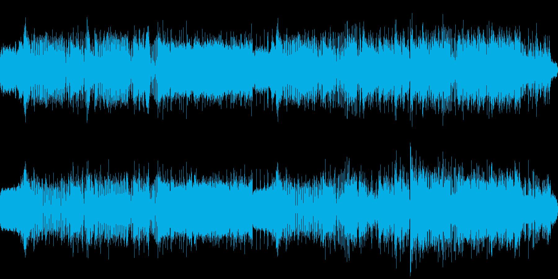 レトロでキメの効いたクールなハードロックの再生済みの波形